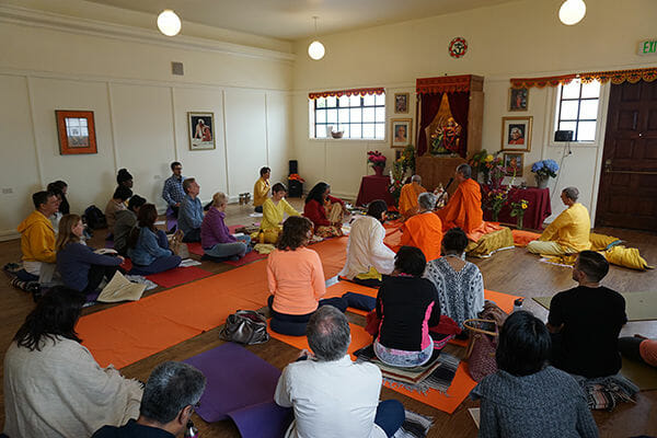 "<div style=""font-family: catamaran; color: #3c2c1e"">Sivananda Yoga Vedanta Center</br><span style=""font-size: .8em"">San Francisco, CA 